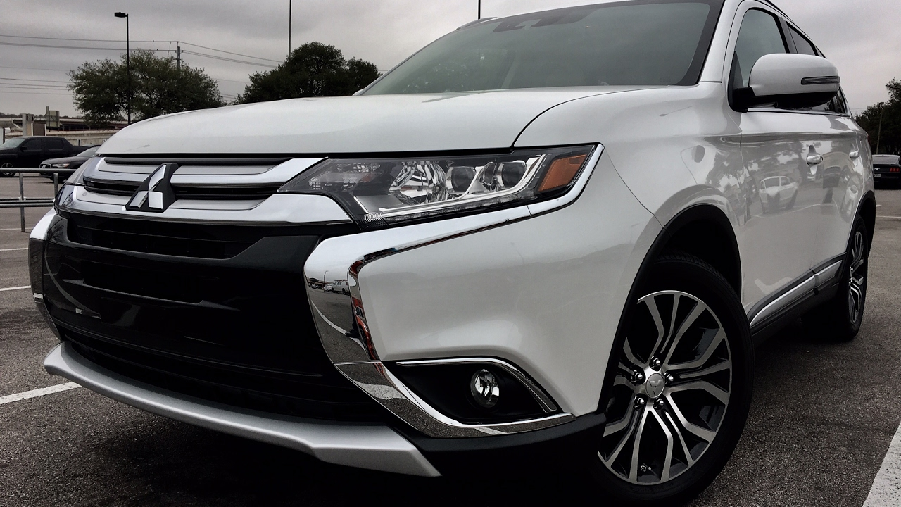 Mitsubishi Outlander SEL Review Texas Dad Blog YouTube - Mitsubishi texas