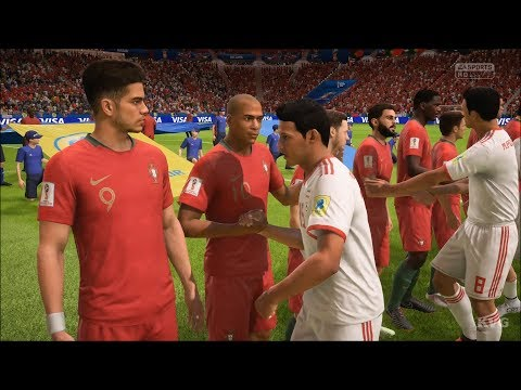 2018 FIFA World Cup Russia - IR Iran vs Portugal - Gameplay (HD) [1080p60FPS]