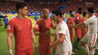 2018 FIFA World Cup Russia - IR Iran vs Portugal - Gameplay (HD) [1080p60FPS]
