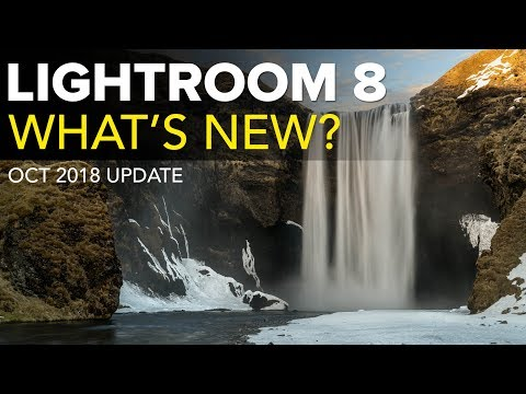 What's New in Lightroom 8