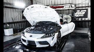 2020 Toyota Supra On The Dyno Jet!