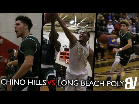 LiAngelo Ball Comes In Clutch! | Chino Hills VS Long Beach Poly FULL HIGHLIGHTS