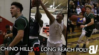 liangelo ball comes in clutch   chino hills vs long beach poly full highlights