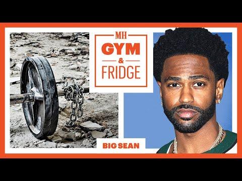 Big Sean Shows His Home Gym & Fridge