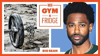 Big Sean Shows His Home Gym & Fridge | Gym & Fridge | Men's Health