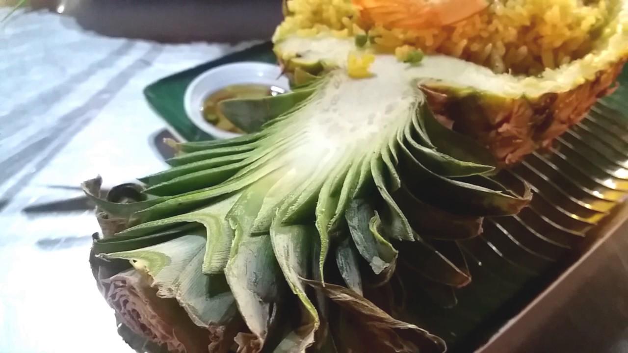 большое салат в ананасе рецепт с фото тайский скромную стопку