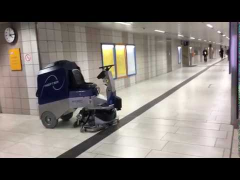 Hefter Gulvvaske robot FS112 Banegård