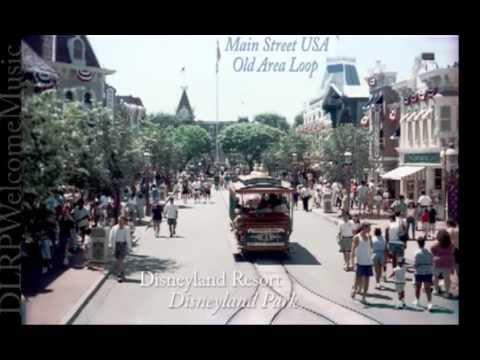 Disneyland Park- Old Area Loop - Main Street USA