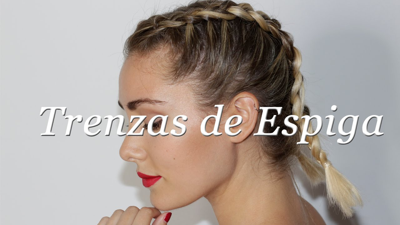 How To Duch Braid Trenzas Youtube