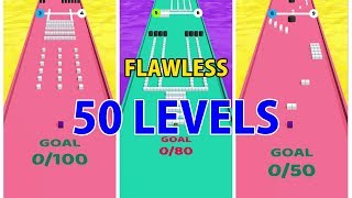 Sticky Block - Gameplay | 50 Levels Completed