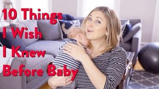 MOM | 10 Things I Wish I Knew Before Baby Tips