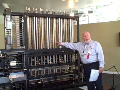 babbages difference engine    operation youtube