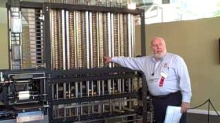 Babbage's DIfference Engine No. 2 in operation