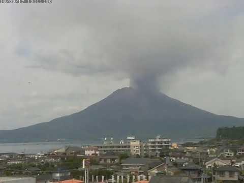17/9/2018 WITA - Mt Sakurajima 桜島 TimeLapse C4