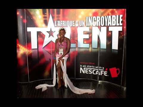 La Prestation de Blondine dans l'Afrique a Un Incroyable Talent   saison 2