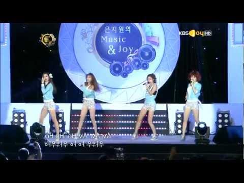 Girl's Day (걸스데이) ~ Oh! My God @Music & Joy 120902