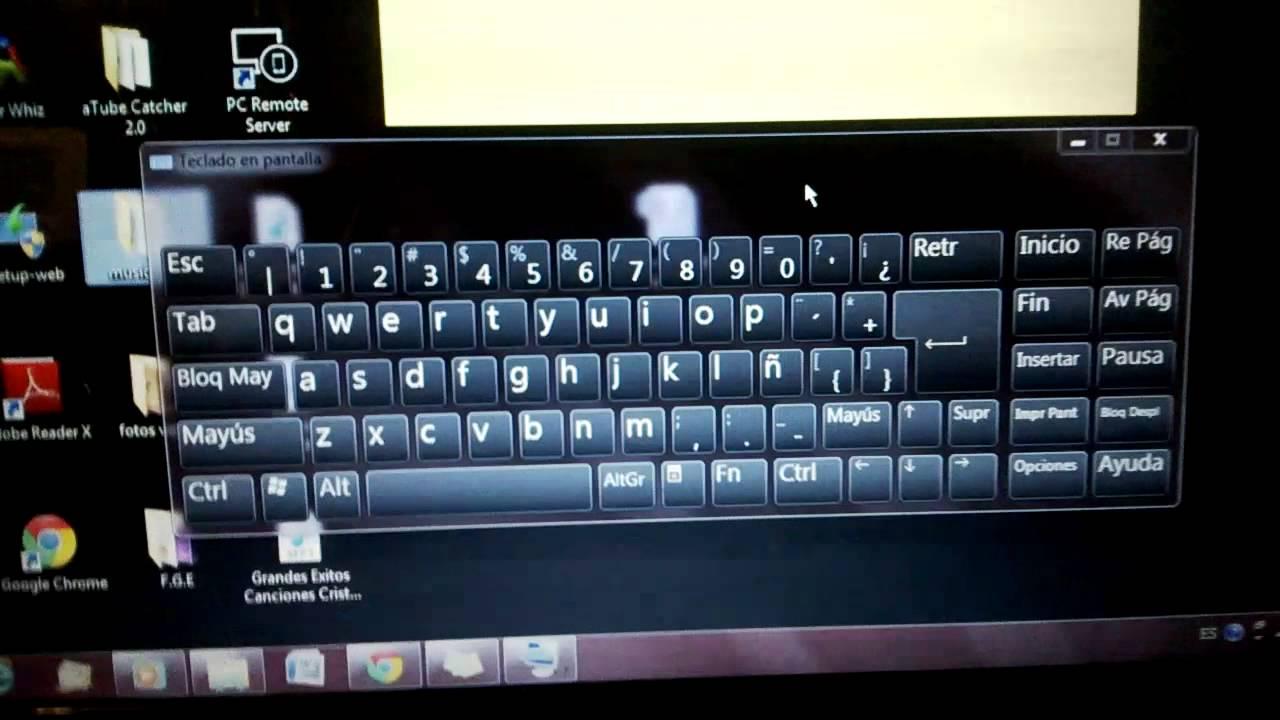Como poner teclado en la pantalla de mi laptop windows 7 - Como se pone el parquet ...