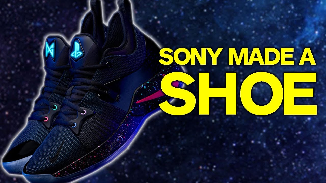 san francisco a0b87 e9004 Sony Made a Shoe - The PG-2 PlayStation Colorway