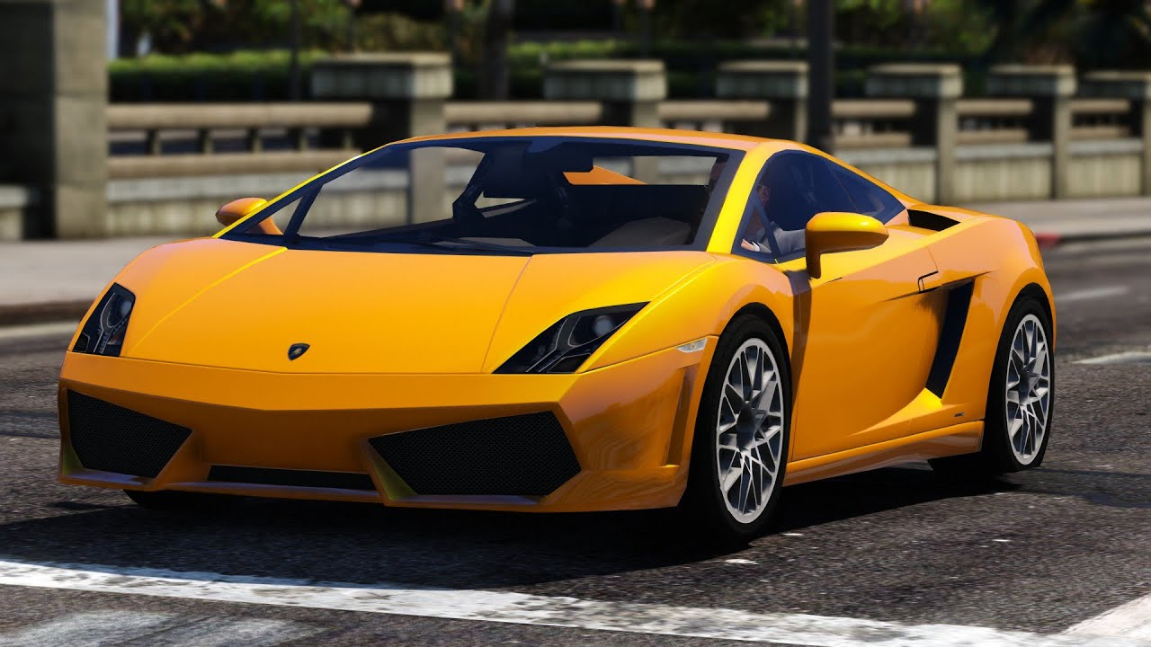 Gta V Lamborghini Gallardo Lp560 4 Mod Youtube