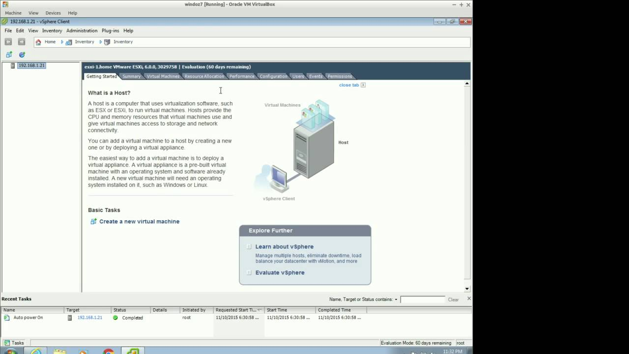 VMware ESXi 6 0 Installation (Home Labs)