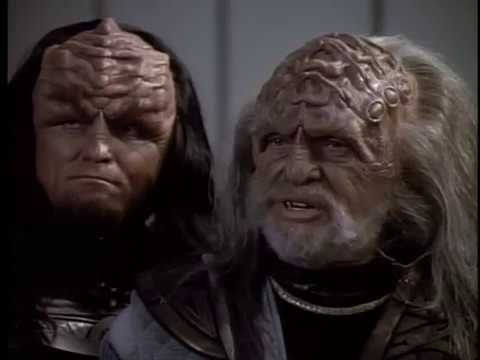 Romulans and a Klingon traitor try to destory the alliance