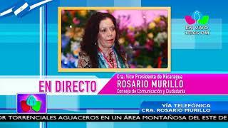 Comunicación con la Vicepresidenta Compañera Rosario Murillo, 12 de Octubre de 2018