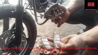 Sửa xe Cùi Bắp_Nguyên lý hoạt động của hệ thống phanh đĩa trên xe máy