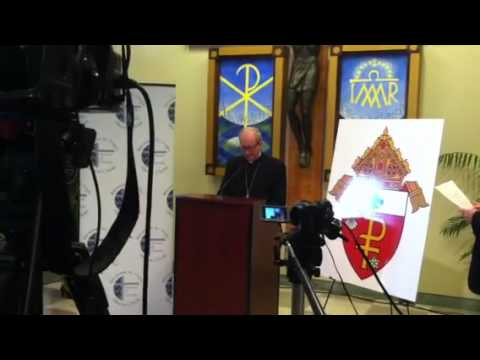 Catholic Bishop Noonan reacts to Pope's resignation