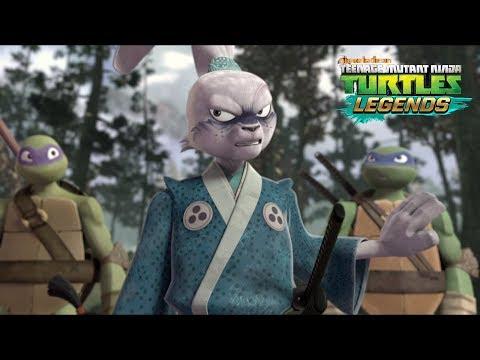 Miyamoto Usagi In Action  -  Teenage Mutant Ninja Turtles Legends