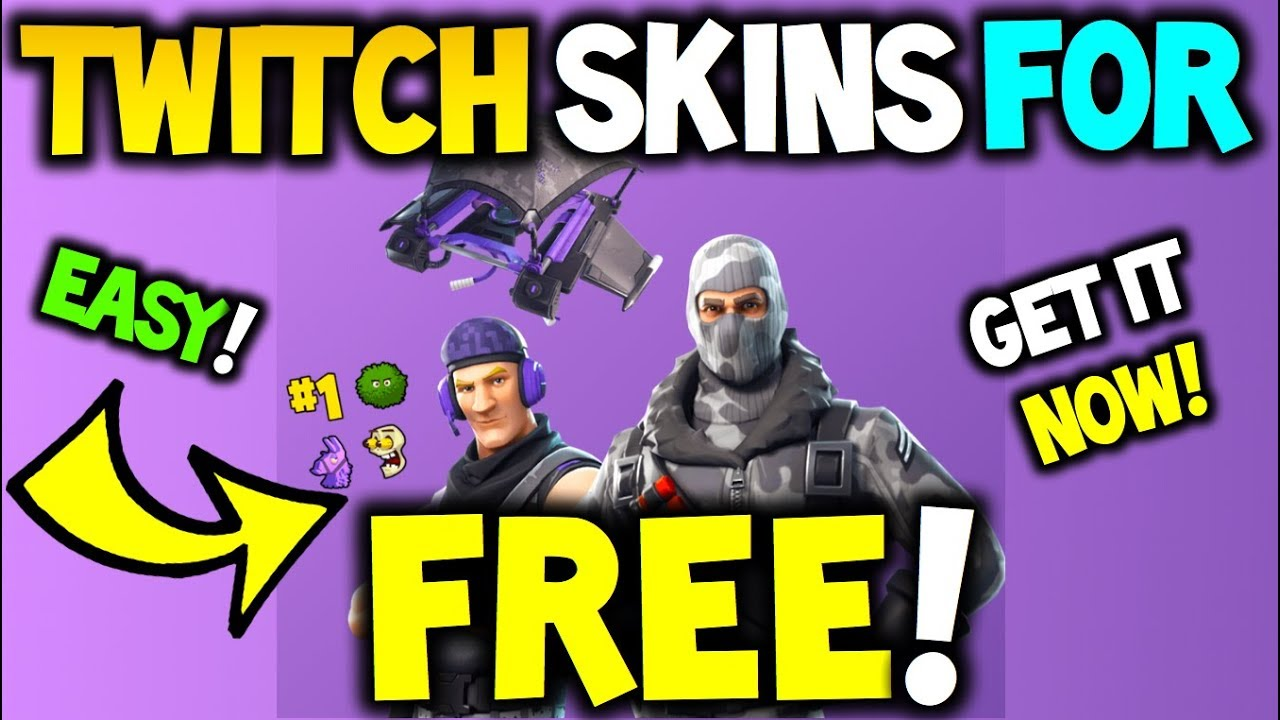 How To get TWITCH PRIME SKINS FOR FREE! Fortnite Battle ...