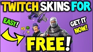 Comment obtenir TWITCH PRIME SKINS GRATUIT! Fortnite Battle Royale! - XBOX / PS4 et PC! 100% SKINS GRATUIT