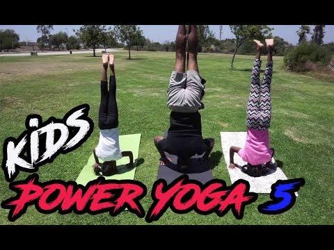 Kids Workout 5 Power Yoga