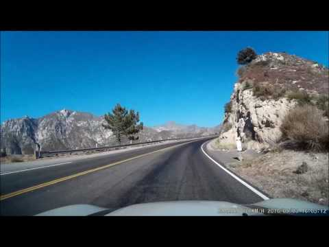 Angeles Crest Drive to Mt Wilson