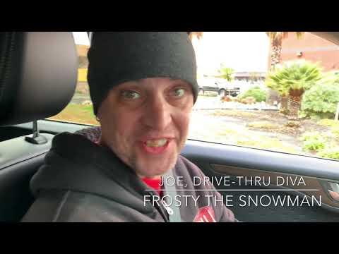 Dog & Joe Sho - Joe, Drive-Thru Diva: Frosty The Snowman