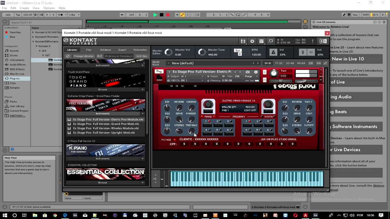 Review Da Extreme Stage Pianos Nord Stage 3 Samples Para Kontakt