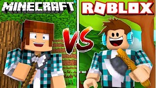 ROBLOX MIX WITH MINECRAFT, WAS IT COOL? RobloxCraft method