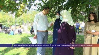 Yvelines | Ali Rabeh en campagne en vue des élections trappistes, les 10 et 17 octobre