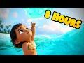 ❤ 8 HOURS ❤ Moana Disney Lullabies for Babies to go to Sleep Music - Songs to go to sleep