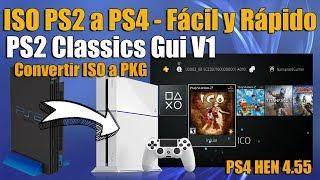Juegos PS2 en Ps4 Instalación FACIL PS2 Classics 4.55 HEN