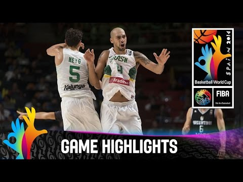 Brazil v Argentina - Game Highlights - Round of 16 - 2014 FIBA Basketball World Cup