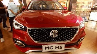 Morris Garages Cars in INDIA/Display@Inorbit Mall Hyderabad- Model MG HS Walk around