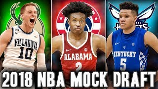 Official 2018 NBA Mock Draft Picks 11 20 Steal Of The Draft