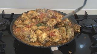 """ TAWA FRY CHICKEN "" Bajias Cooking"