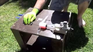 O.S fs 30-s 4 stroke engine running video