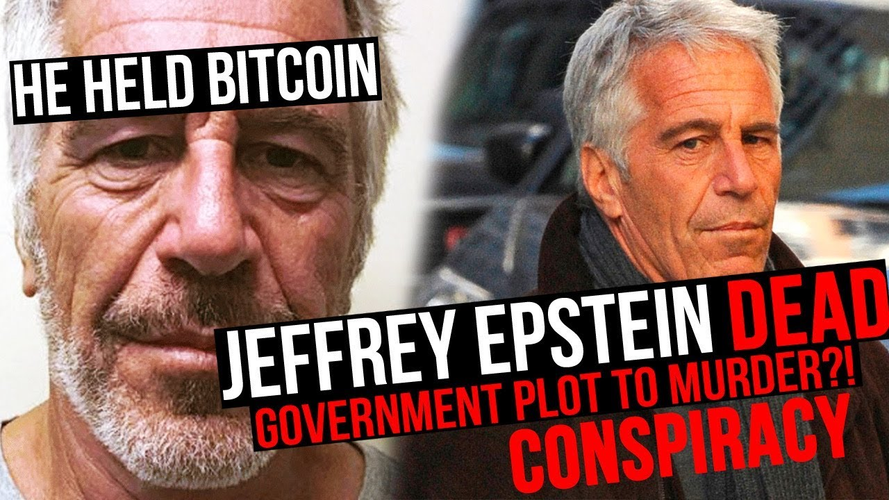 Jeffrey Epstein. The Billion Dollar Death Conspiracy. He Held Bitcoin.
