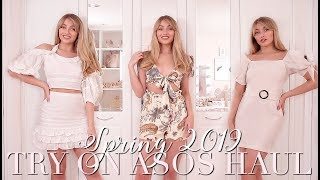 ASOS Spring 2019 Try On Haul 🌸 ~ Spring Fashion Edit ~ Freddy My Love ~