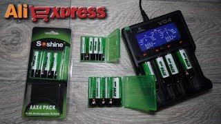 AliExpress: Акумулятори АА і ААА ''Soshine''