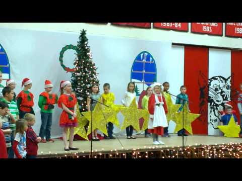 Silas Moats 3rd Grade Christmas play in Salem Illinois