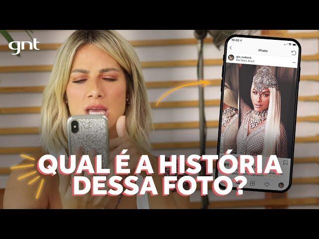 Gio Ewbank conta tudo sobre a história por trás das suas fotos | Amores do GIOH no GNT