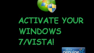 Windows Loader 2.2.2 by Daz ACTIVATE YOUR WINDOWS 7 OR VISTA!